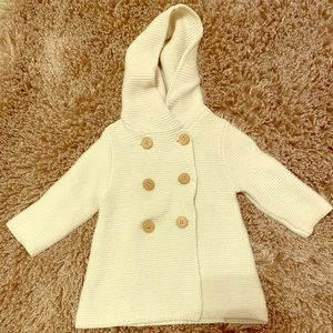 Bonnie Baby 12M Pea Coat -NEW WITHOUT TAGS